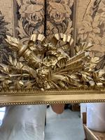 French 19th Century Gilt Wall Mirror with Carved Decoration (4 of 9)
