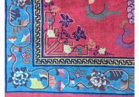 Antique Chinese Art Deco Carpet (3 of 9)