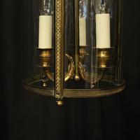 French Gilded Bronze Triple Light Lantern (6 of 10)