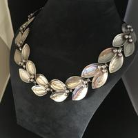 Danish Sterling Silver Necklace by Aare & Krogh. 1950s (3 of 5)