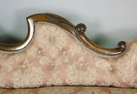 Victorian Carved Mahogany Frame Sofa (7 of 11)
