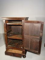 A Mid 19th Century Single Door Court Style Cupboard (4 of 5)