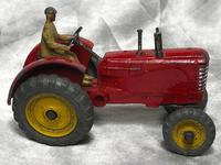 1950's Dinky Toys Massey Harris Red Tractor Plough Manure Spreader Disc Harrow (27 of 36)