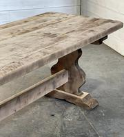 French Bleached Refectory Farmhouse Dining Table (19 of 21)