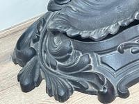 Art Nouveau Style Black Heavy Cast Iron French Nubile Umbrella Stand Corneau Alfred A Charlesville No 27 (17 of 41)