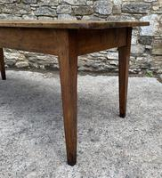 Large French Sycamore & Elm Farmhouse Table (10 of 21)