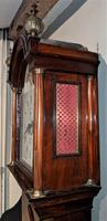 Early Late 18th / Early 19th Century Moon Dial Longcase Grandfather Clock (3 of 10)