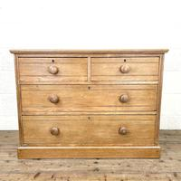 Antique Pale Oak Chest of Drawers (2 of 10)