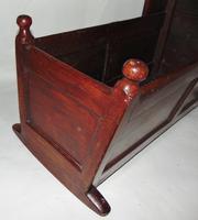 Georgian Scrumbled Pine Cradle (3 of 7)