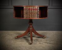 Rare Revolving Bookcase Drum Table (2 of 10)