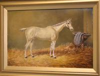 Beverley, Oil Painting of a Horse by William Eddowes Turner (3 of 7)
