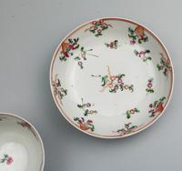 New Hall Porcelain Tea Bowl & Saucer, ex de Saye Hutton Collection 1790 (3 of 6)