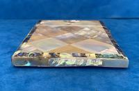Victorian Abalone & Mother of Pearl Card Case (5 of 16)