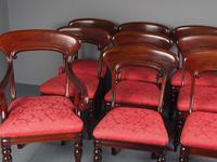 Set of 12 Scottish Mahogany Dining Chairs (3 of 18)