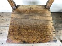 Pair of Welsh Oak Bar Back Farmhouse Chairs (15 of 15)