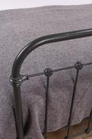 Lovely Simple French All Iron King Size Bed (2 of 7)
