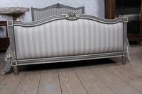 Beautiful Newly Upholstered King Size French Louis XVI Style Bed (3 of 11)