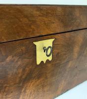 Victorian Walnut Writing Slope Box (5 of 15)