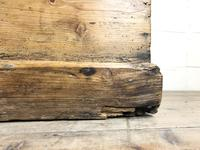 Large Victorian Antique Pine Trunk (13 of 14)