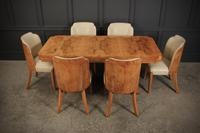 Art Deco Epstein 6 Seat Dining Table & Chairs Suite (11 of 22)