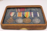 4 Medal Group Awarded to CH 20821 PTE.H.Hunt R.M.L.I (9 of 10)