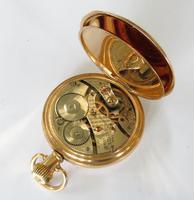 Antique Waltham Royal half hunter pocket watch (4 of 5)