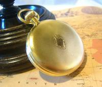 Vintage Swiss Limit Pocket Watch 1970s 17 Jewel 12ct Gold Plated FWO (8 of 11)