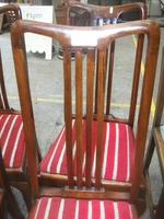 Set of 4 Queen Anne Leg Dining Chairs (2 of 4)