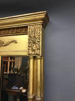 19th Century Gilt Overmantel Mirror (5 of 10)