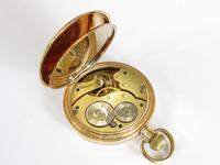 Antique Waltham Traveler Full Hunter Pocket Watch, 1916 (4 of 6)