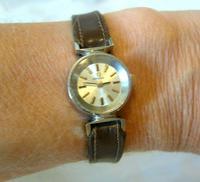 Vintage Ladies Omega Wrist Watch 1968 17 Jewel Steel Case Serviced FWO (4 of 12)