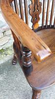 Fine Quality High Back Yew Wood Windsor Chair (2 of 3)