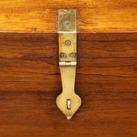 Victorian brass bound teak military chest (2 of 7)