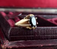 Vintage Garnet Dress Ring, 9ct Gold (16 of 16)
