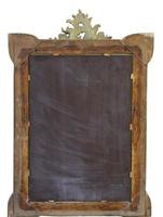 19th Century French Gilt Wall Mirror Overmantle Crest (9 of 9)