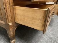 Stylish French Oak Chest of Drawers (7 of 18)