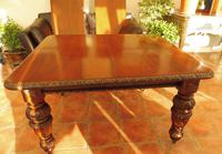 Edward and Roberts Wind up dining  table seats 10 country oak (8 of 10)