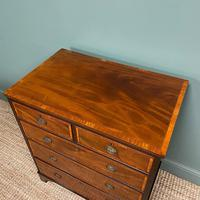 Spectacular Small Georgian Mahogany Antique Chest of Drawers (6 of 6)