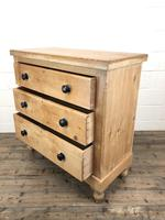 Antique Victorian Pine Chest of Drawers (5 of 9)