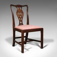 8 Antique Chippendale Revival Chairs, English, Mahogany, Dining Seat, Victorian (2 of 12)