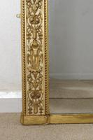 Painted and Parcel-Gilt Arch Top Overmantle Mirror by Nosotti (10 of 15)