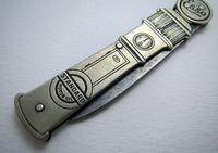 Rare ESSO Solingen Folding Pocket Knife, Advertising Gas Pump Standard Motor Oil Novelty Penknife. Germany c.1920 (6 of 9)