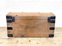 Rustic Antique Pine Dome Top Trunk (9 of 9)