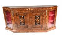 Victorian Credenza Walnut Sideboard Cabinet c.1880 (2 of 16)