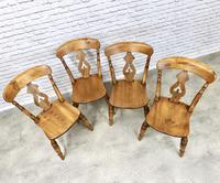 Set of 4  Lyreback Windsor Chairs (3 of 6)
