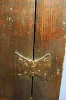 Late 17thC Oak Hanging Wall Cupboard. Mural or Spice Cabinet (16 of 17)