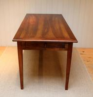 Small Proportioned French Cherry Wood Farmhouse Table (6 of 10)