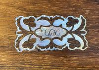 William IV Rosewood & Mother of Pearl Writing Slope (5 of 14)