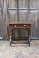 Early Oak Country  Side Table (2 of 6)
