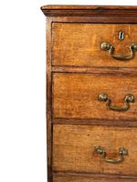 English George III Oak Chest of Drawers (3 of 11)